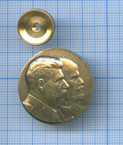 Значок «Ленин - Сталин» (Россия)