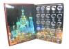 Альбом для монет «Памятные монеты России - 10 рублей» (150 ячеек) (Россия)