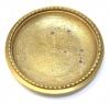 Блюдце (латунь, диаметр 11,5 см)