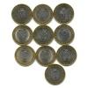 Набор монет 10 рублей — Российская Федерация - Саратовская область 2014 года (Россия)