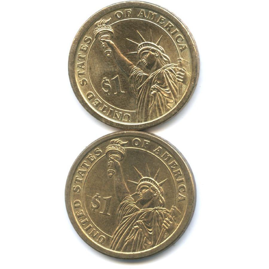 Набор монет 1 доллар - Президенты США 2007, 2012 (США)