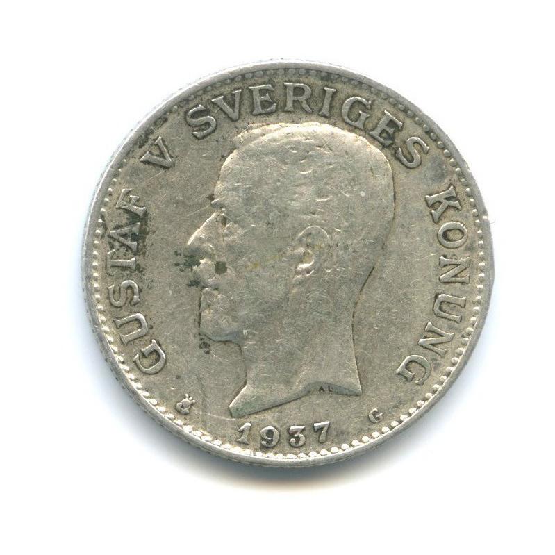 1 крона 1937 года (Швеция)