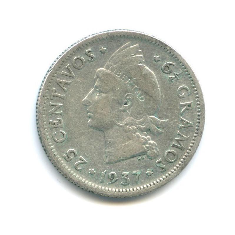 25 сентаво 1937 года (Доминикана)
