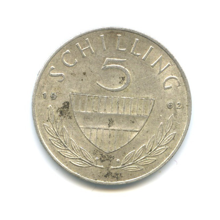 5 шиллингов 1962 года (Австрия)