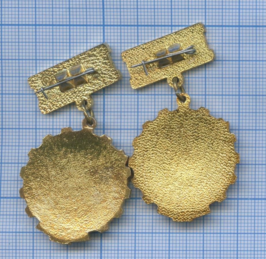 Набор знаков «Победитель соцсоревнования» 1978, 1979 (СССР)