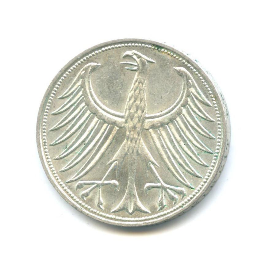 5 марок 1972 года J (Германия)
