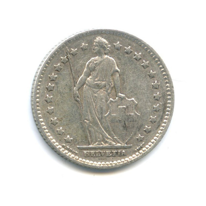 1 франк 1920 года (Швейцария)