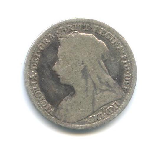 3 пенса 1896 года (Великобритания)