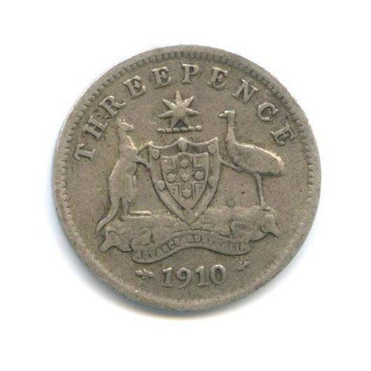 3 пенса 1910 года (Австралия)