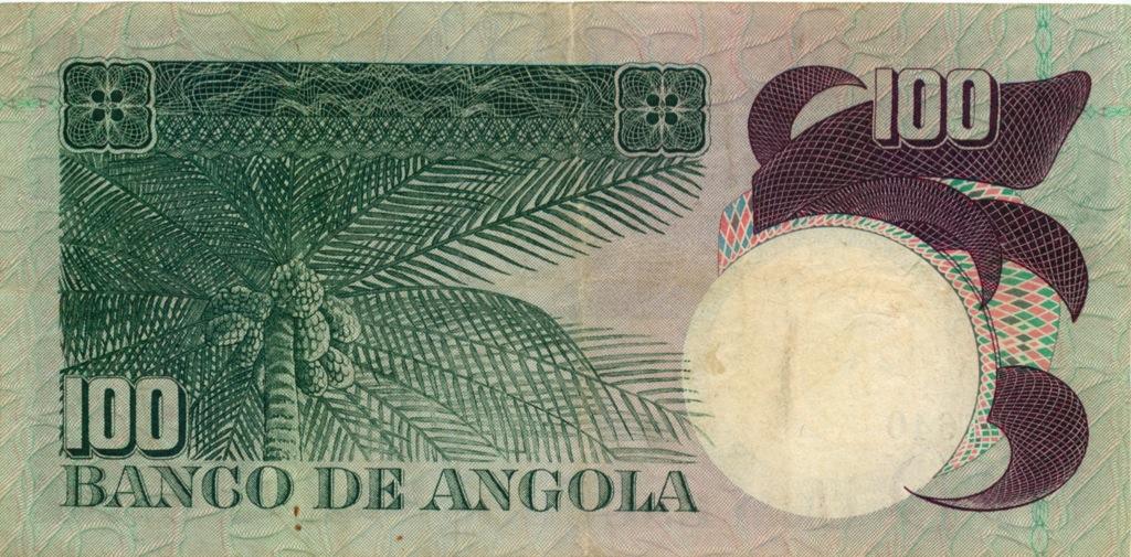 100 эскудо (Ангола) 1973 года