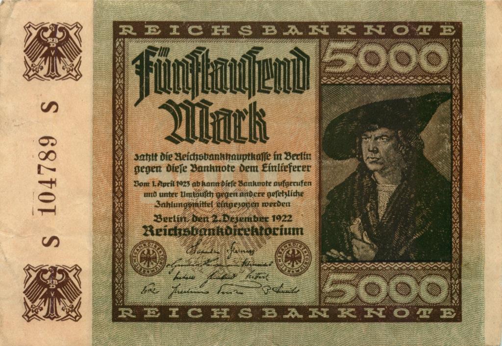 5000 марок 1922 года (Германия)