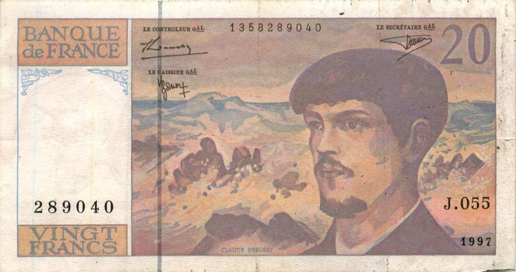 20 франков 1997 года (Франция)