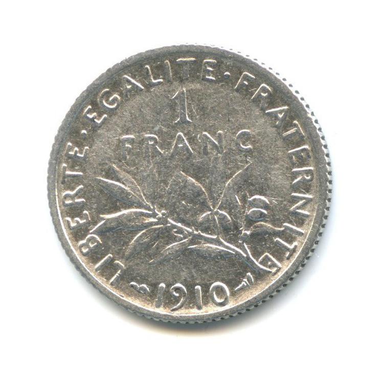 1 франк 1910 года (Франция)