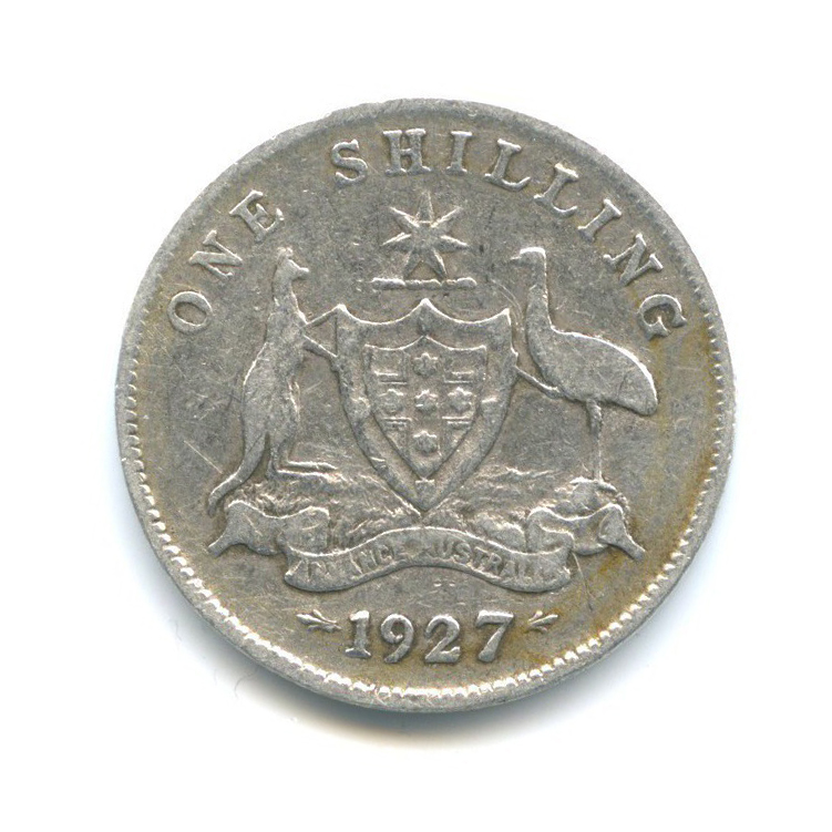 1 шиллинг 1927 года (Австралия)