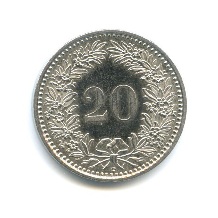 20 раппен 2009 года (Швейцария)