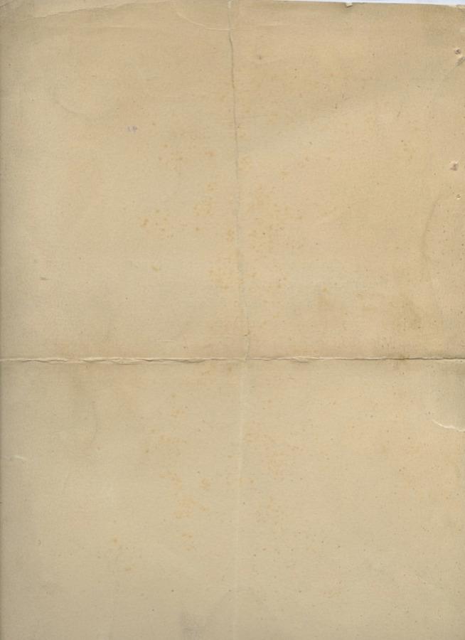 Свидетельство обокончании полного курса Рабочего Факультета потехническому уклону (Ленинградский Горный Институт) 1927 года (СССР)