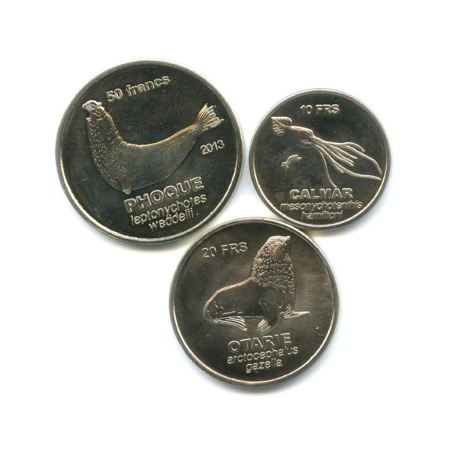Набор монет - Животные, Острова Кергелен 2011, 2013