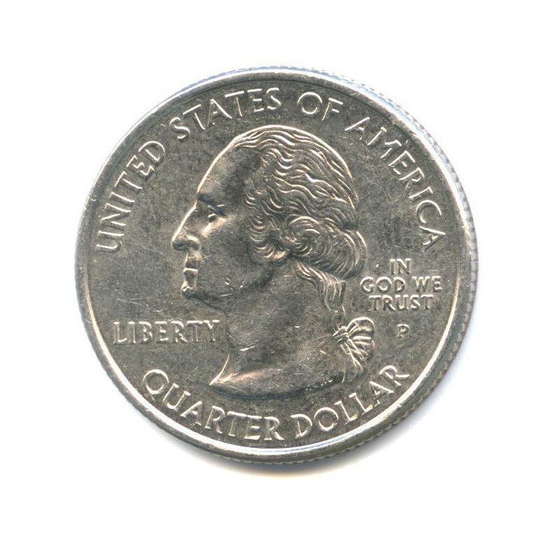 25 центов (квотер) — Квотер штата Мэриленд 2000 года P (США)