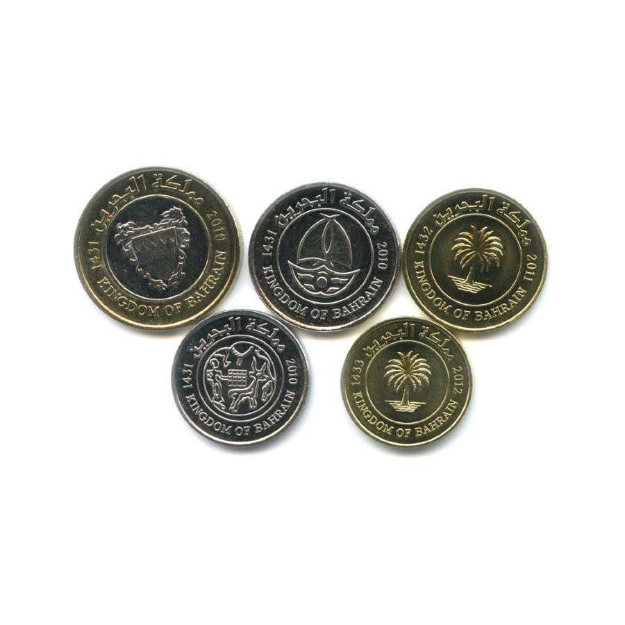 Набор монет - Королевство Бахрейн 2010-2012