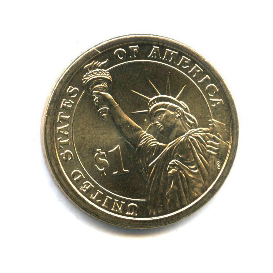 1 доллар — 3-ий Президент США - Томас Джеферсон (1801-1809) 2007 года D (США)