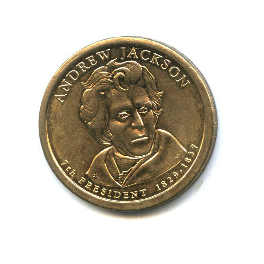 1 доллар — 7-ой Президент США - Эндрю Джексон (1829-1837) 2008 года P (США)