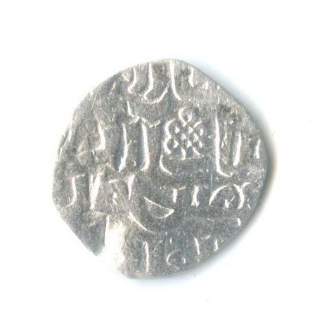 Султан Верховный Гийас ад-Дин, Справедливый Токтогул, Токтогул (Угуйск); чекан Сарая ал-Махруса, 710 г. х. (Сагдеева 176, Френкем 28), обрезан