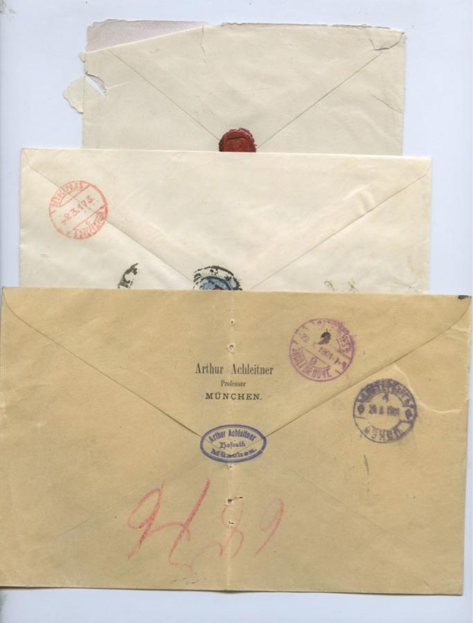 Набор почтовых конвертов (Российская Империя, Германия)