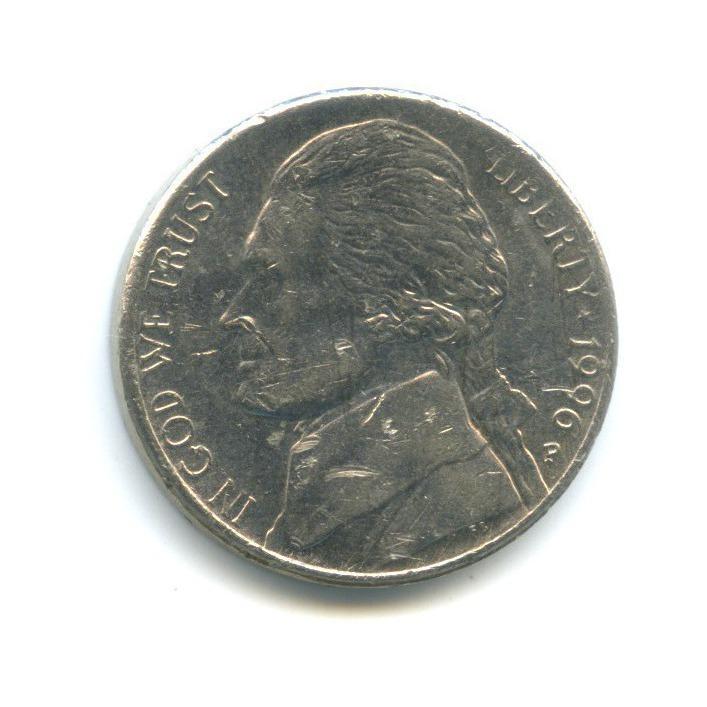 5 центов 1996 года P (США)