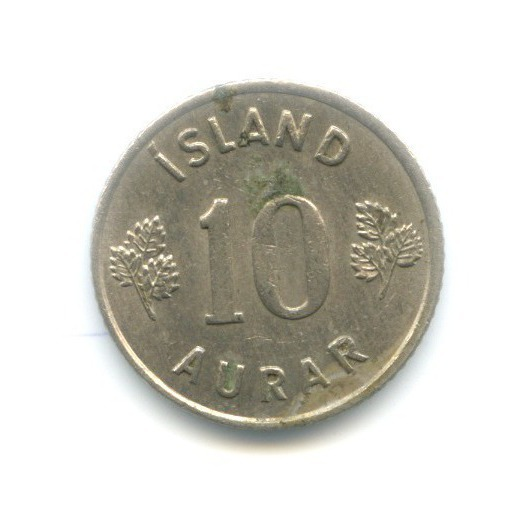 10 эйре 1961 года (Исландия)