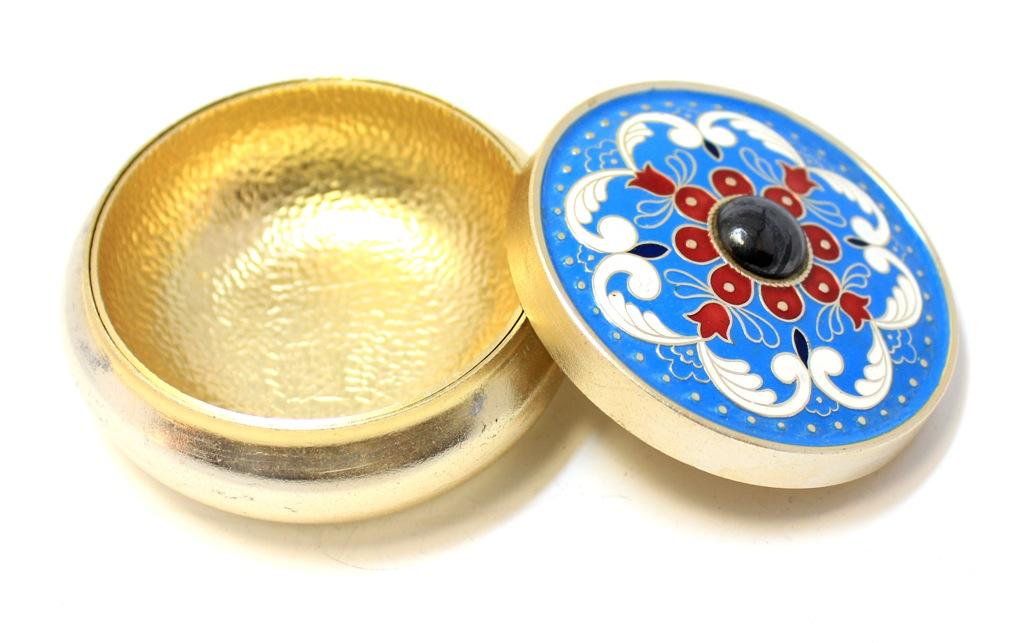 Шкатулка (эмаль, 8 см) (СССР)