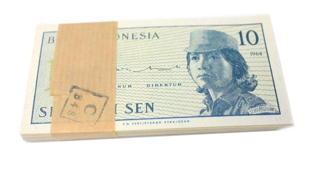 Набор банкнот 10 сенов 1964 года (Индонезия)