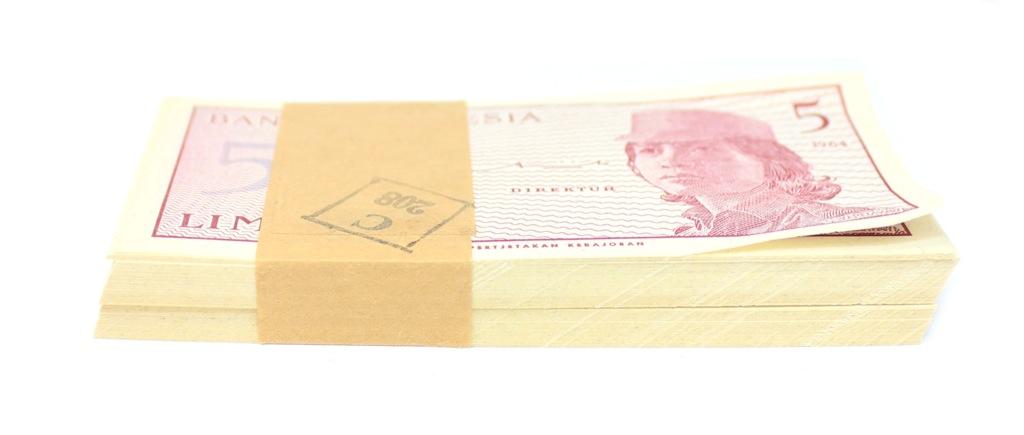 Набор банкнот 5 сенов 1964 года (Индонезия)