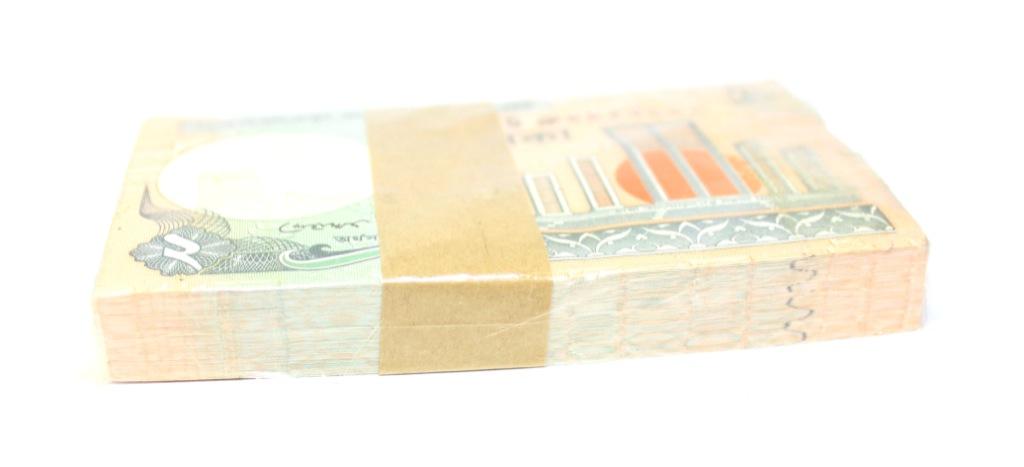Набор банкнот 2 така (Бангладеш) 2010 года