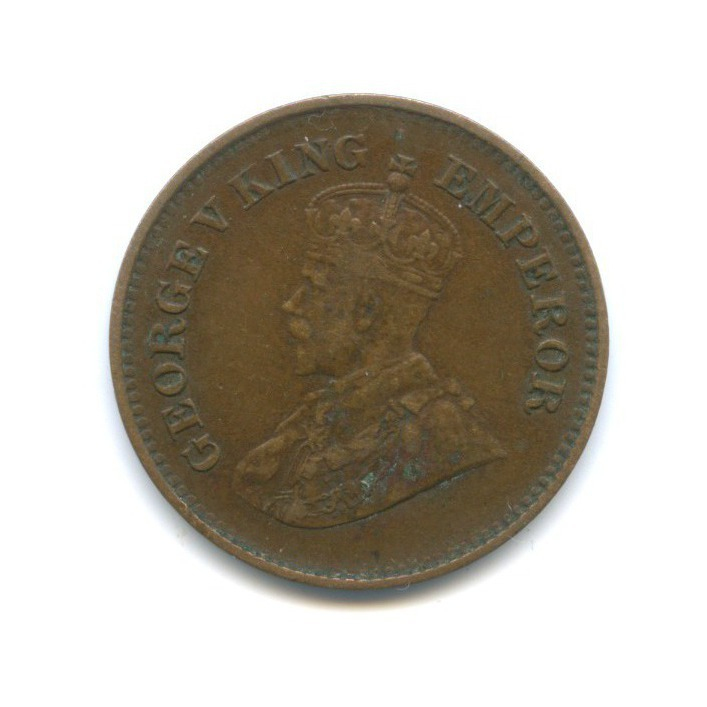 1/2 пайс, Британская Индия 1935 года