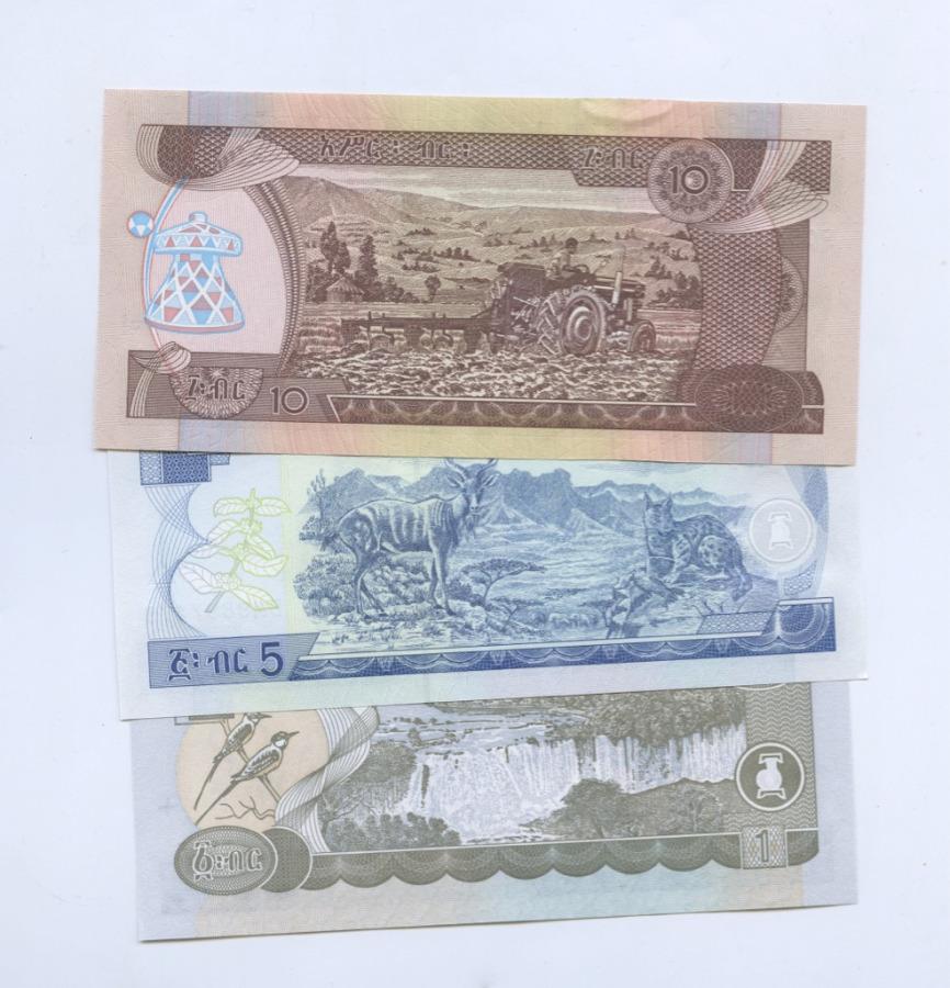 Набор банкнот (Эфиопия) 2008, 2013