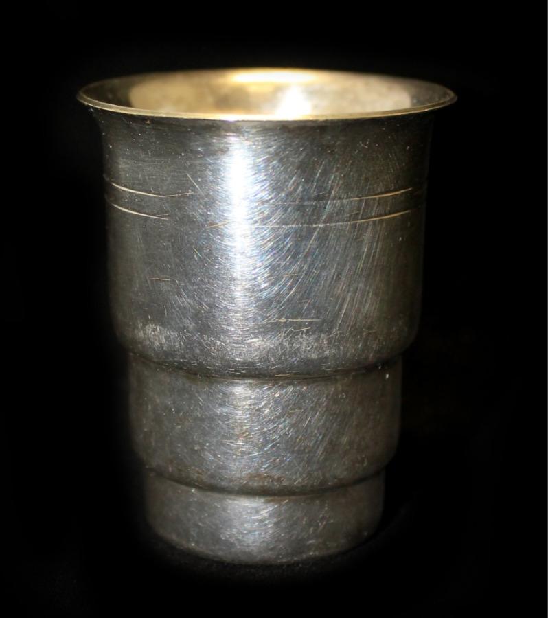 Стопка (серебрение, 6 см)