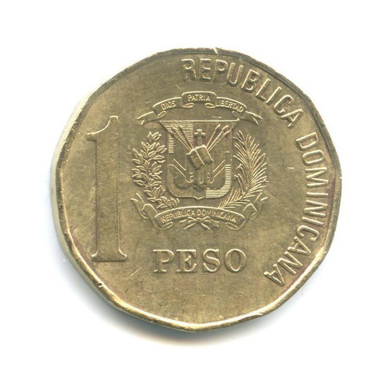 1 песо 2002 года (Доминикана)