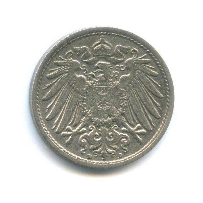 10 пфеннигов 1916 года D (Германия)