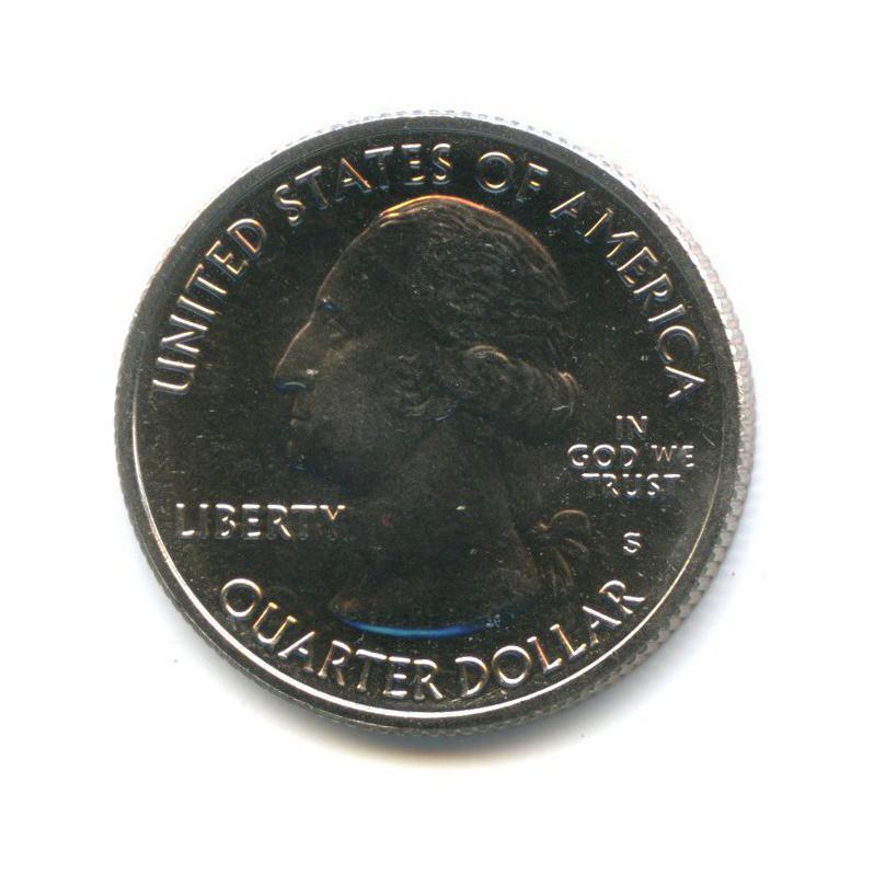 25 центов (квотер) - Автомагистраль Блу-Ридж 2015 года S (США)
