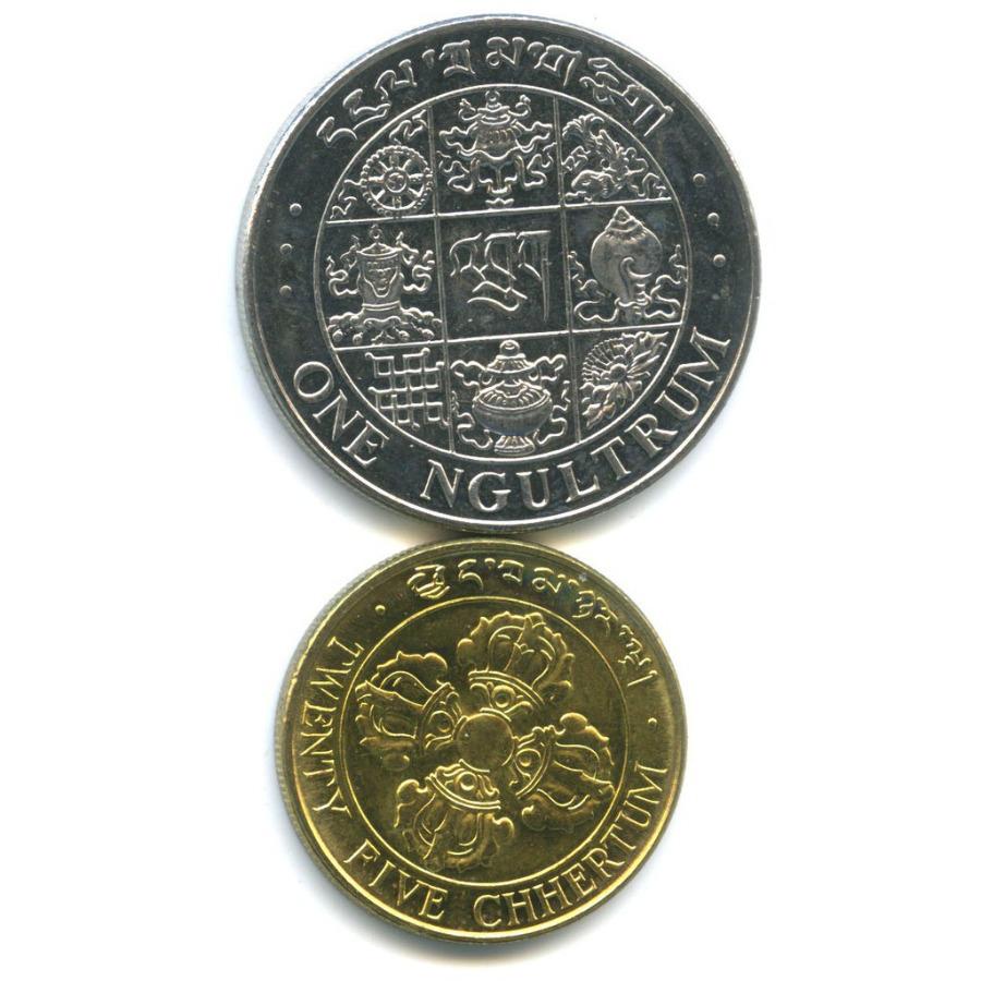 Набор монет (Бутан) 1979 года