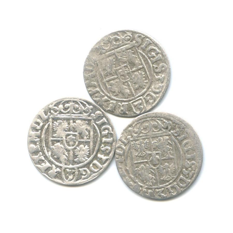Набор монет полторак - Сигизмунд III, Речь Посполитая 1620, 1627