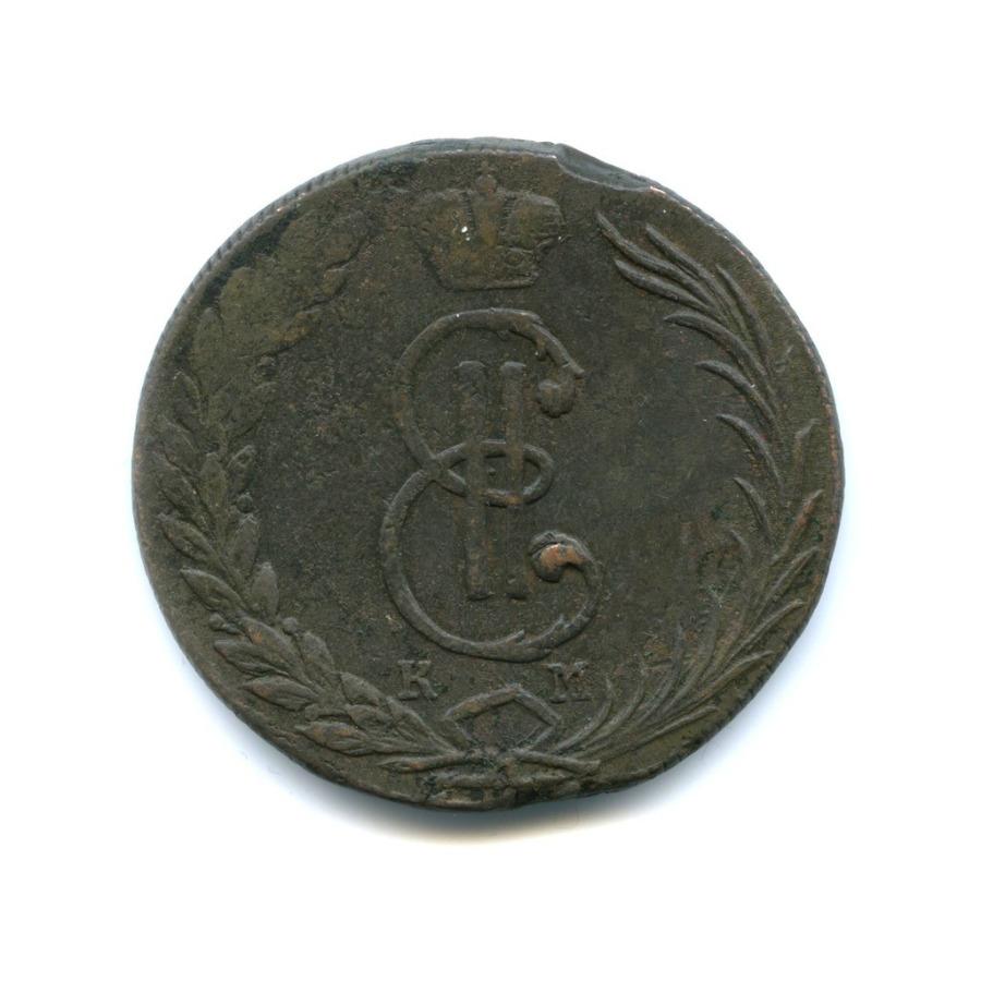 10 копеек 1771 года КМ (Российская Империя)