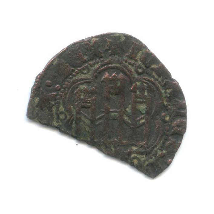 Монета средневековой Испании (Испания)