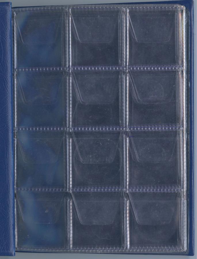 Альбом для монет (96 ячеек)
