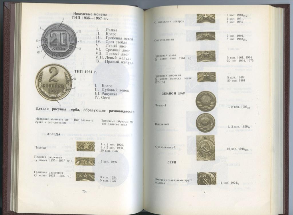 Книга «Монеты СССР», издательство «Финансы истатистика», Москва (238 стр.) 1989 года (СССР)