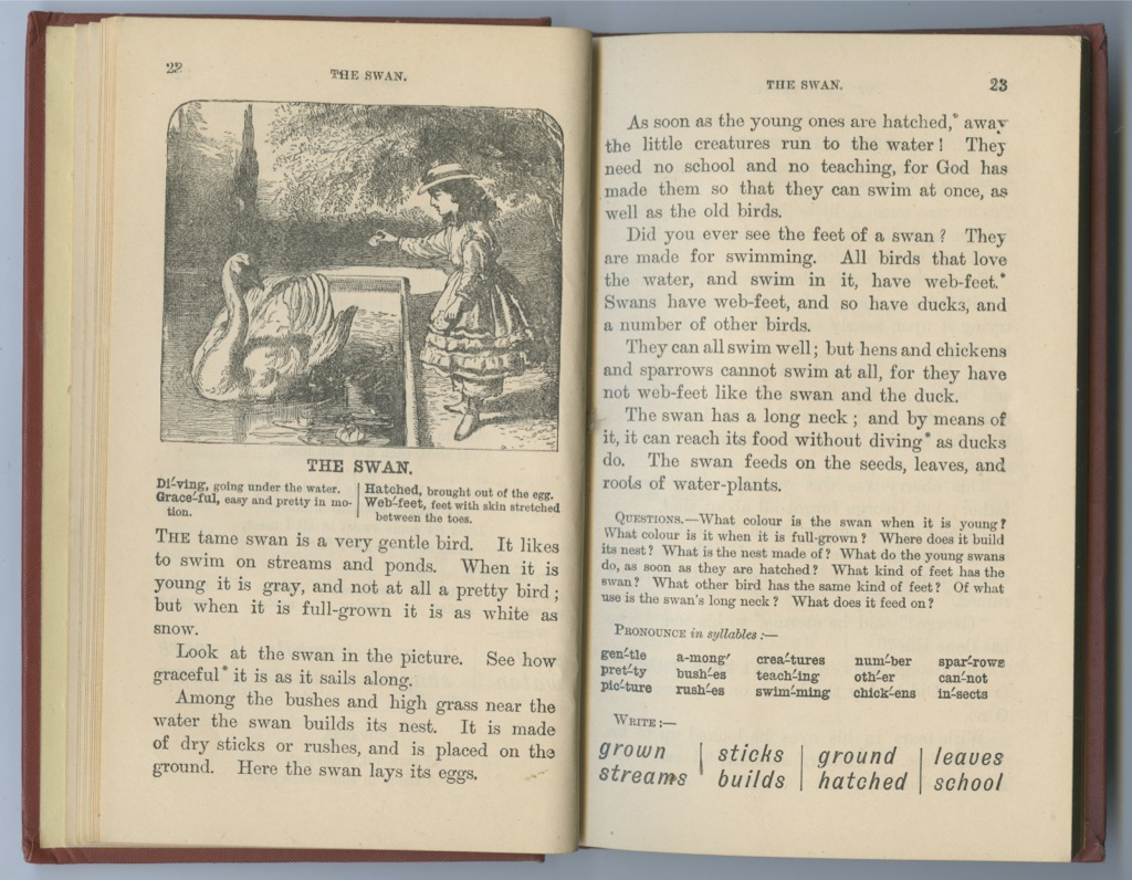 Книга «The Royal Readers» (142 стр.) 1914 года (Великобритания)