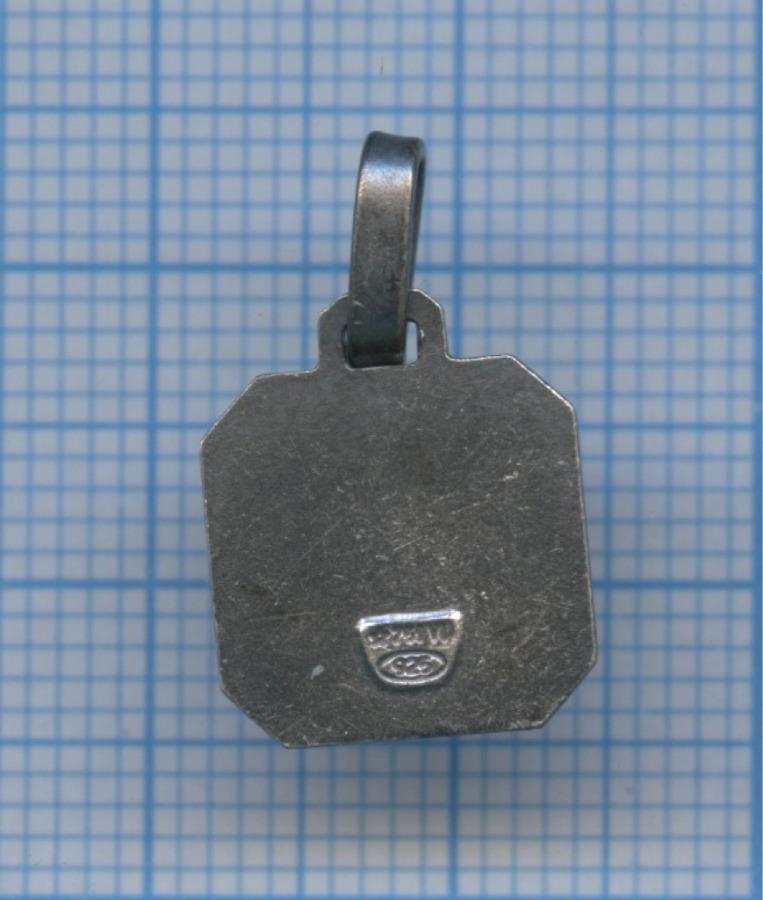 Подвеска «Е» (925 проба серебра)
