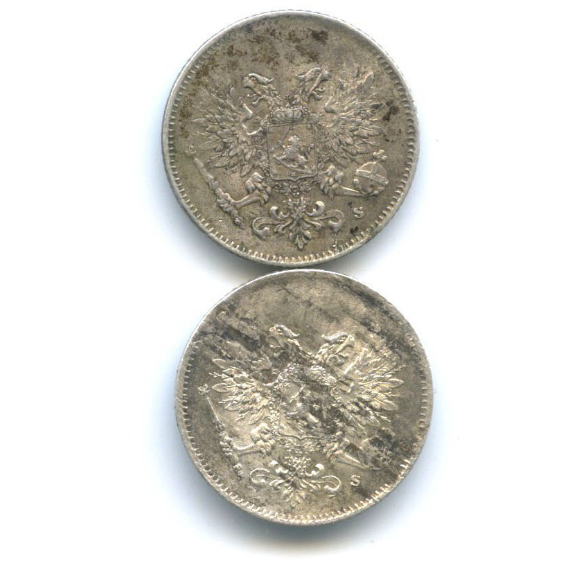 Набор монет 25 пенни 1917 года S (Российская Империя)