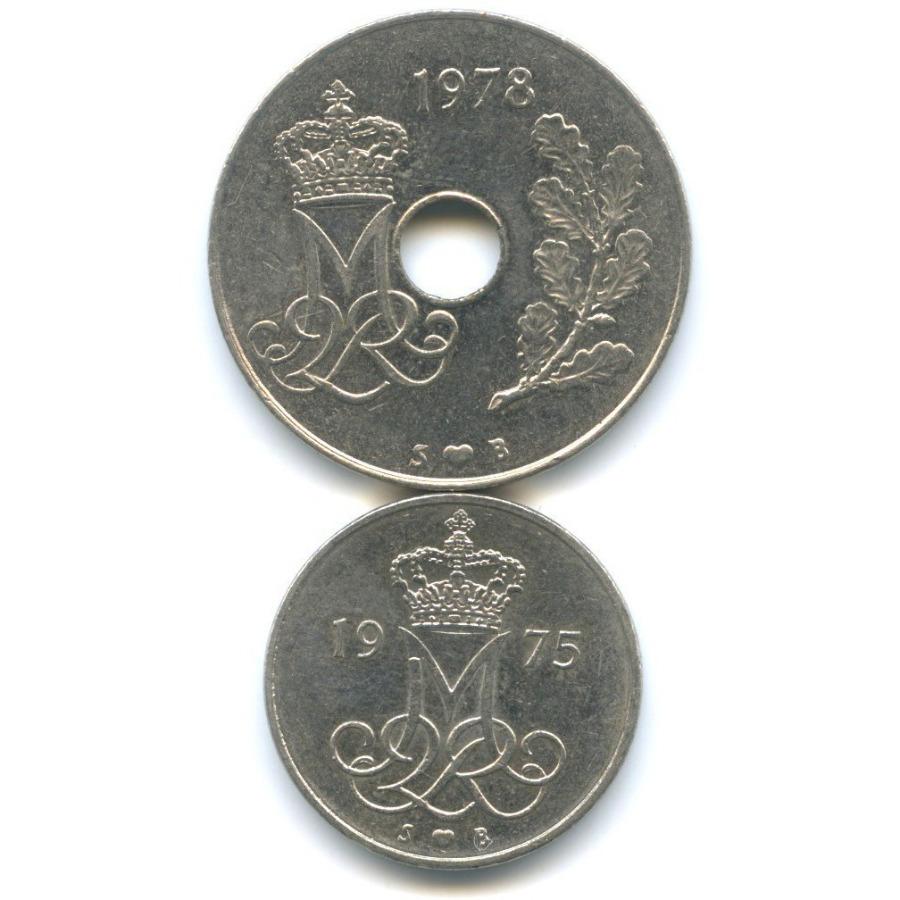 Набор монет 1975, 1978 (Дания)