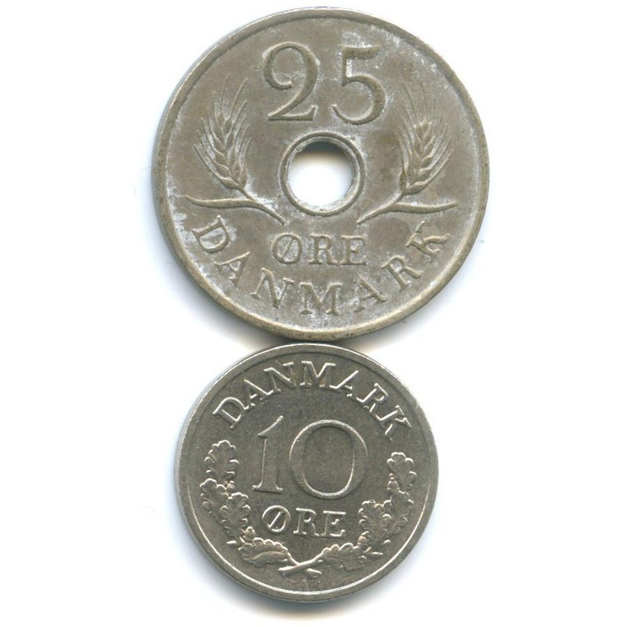 Набор монет 1969, 1972 (Дания)